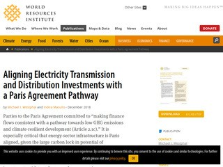 Aligning Electricity Transmission and Distribution Investments with a Paris Agreement Pathway