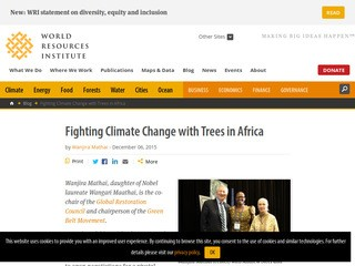 Fighting Climate Change with Trees in Africa