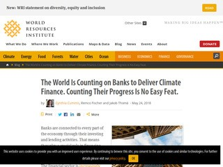 The World Is Counting on Banks to Deliver Climate Finance. Counting Their Progress Is No Easy Feat.