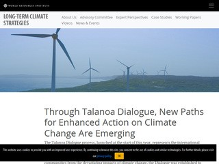 Through Talanoa Dialogue, New Paths for Enhanced Action on Climate Change Are Emerging
