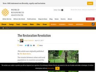 The Restoration Revolution