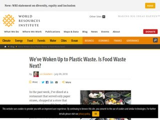 We've Woken Up to Plastic Waste. Is Food Waste Next?