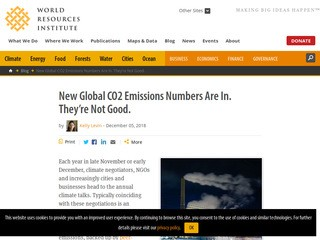 New Global CO2 Emissions Numbers Are In. They're Not Good.