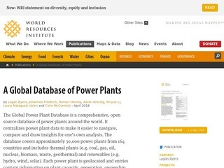 A Global Database of Power Plants