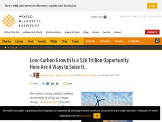Low-Carbon Growth Is a $26 Trillion Opportunity. Here Are 4 Ways to Seize It.