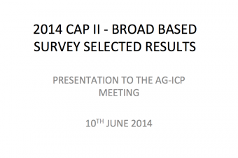 2014 CAP II - BROAD BASED SURVEY SELECTED RESULTS  90b9cb199a3