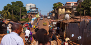 Sierra Leone street scene